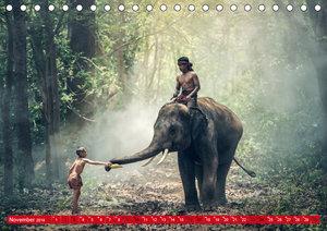 Magisches Asien. Menschen und Natur (Tischkalender 2019 DIN A5 q