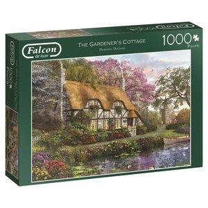 Falcon 11205 - De Luxe, The Gardeners Cottage, Puzzle, 1000 Teil