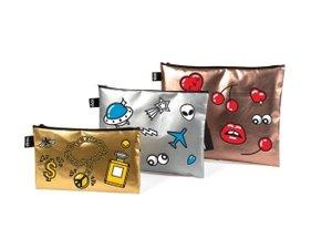 Zip Pocket Set METALLIC Matt Metallic Pop