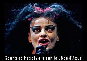 Stars et festivals sur la Côte d'Azur (Livre poster DIN A3 hori