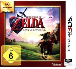 The Legend of Zelda, Ocarina of Time 3D, Nintendo 3DS-Spiel