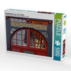 Vierständerhaus von 1777 in Exten 1000 Teile Puzzle quer