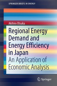 Regional Energy Demand and Energy Efficiency in Japan