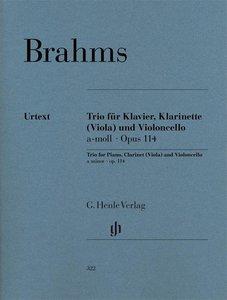 Trio für Klavier, Klarinette (oder Viola) und Violoncello a-mol
