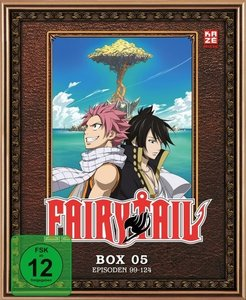 Fairy Tail - TV-Serie - Box 5 (Episoden 99-124)