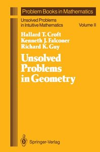 Unsolved Problems in Geometry