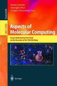 Aspects of Molecular Computing