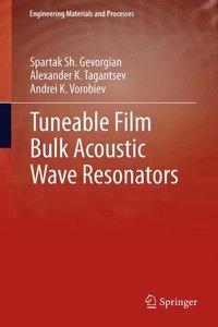Tuneable Film Bulk Acoustic Wave Resonators