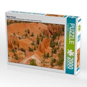 CALVENDO Puzzle Bryce Canyon 2000 Teile Lege-Größe 90 x 67 cm Fo
