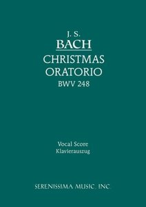 Christmas Oratorio, Bwv 248 - Vocal Score