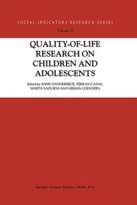 Quality-of-Life Research on Children and Adolescents