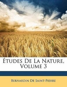 Études De La Nature, Volume 3