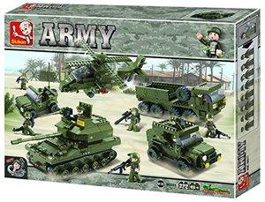 Sluban ARMY M38-B0311 - Landstreitkräfte Set II, 996 Teile