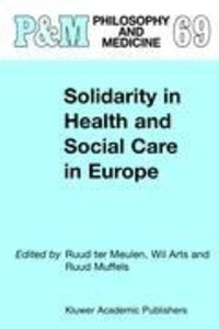 Solidarity in Health and Social Care in Europe