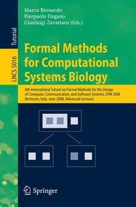 Formal Methods for Computational Systems Biology