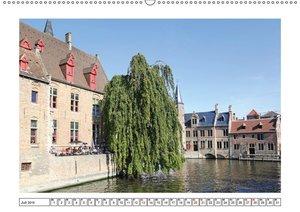 Unterwegs in Flandern (Wandkalender 2019 DIN A2 quer)