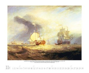 William Turner 2018. Kunst Art Kalender
