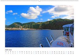 Mit der Fähre von Pico nach Sao Jorge (Wandkalender 2020 DIN A2