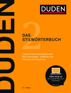 Duden - Das Stilwörterbuch