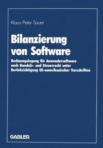Bilanzierung von Software