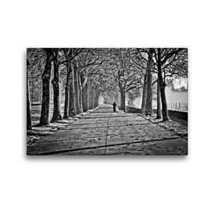 Premium Textil-Leinwand 45 cm x 30 cm quer Herbstimpression an d