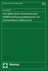 Die Rolle nicht-internationaler Waffenstillstandsabkommen im hum