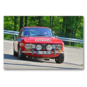 Premium Textil-Leinwand 90 cm x 60 cm quer Alfa Romeo GTV Bj.19