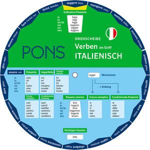 PONS Drehscheibe Verben im Griff Italienisch