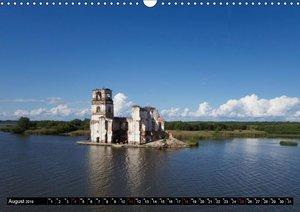 Flussfahrt Moskau - St. Petersburg (Wandkalender 2019 DIN A3 que