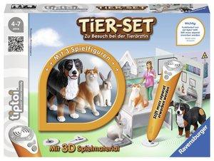 Ravensburger tiptoi 00747 - Tier Set, Zu Besuch bei der Tierärzt