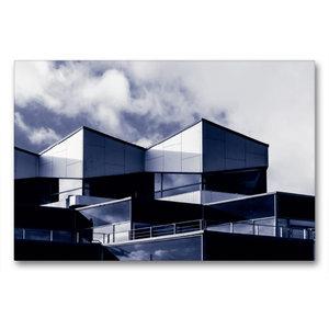 Premium Textil-Leinwand 90 cm x 60 cm quer Damp