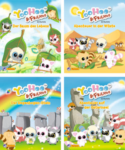 Nelson Mini-Bücher: 4er Yoohoo & Friends 1-4