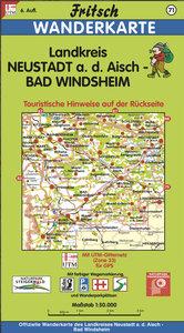 Landkreis Neustadt an der Aisch / Bad Windsheim 1 : 50 000. Frit