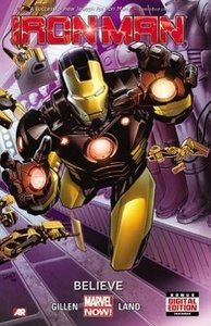 Iron Man 01: Believe (marvel Now)