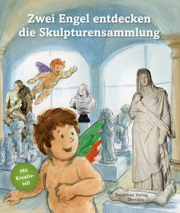 Zwei Engel entdecken die Skulpturensammlung