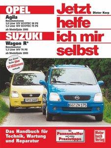 Opel Agila / Suzuki Sport Wagon R+ ab Modelljahr 2000. Jetzt hel