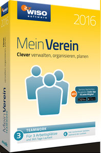 WISO Mein Verein 2016. teamwork-Edition. Windows 7; Vista; XP