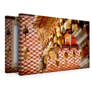 Premium Textil-Leinwand 45 cm x 30 cm quer Herzglocken im Kloste