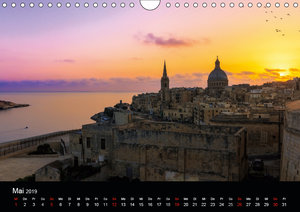 Maltesische Ansichten (Wandkalender 2019 DIN A4 quer)