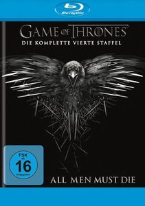 Game of Thrones. Staffel.4, 4 Blu-rays