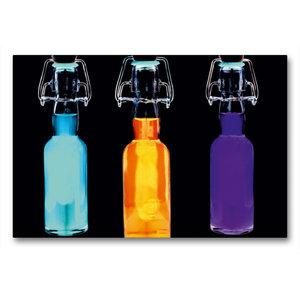 Premium Textil-Leinwand 90 cm x 60 cm quer Energie-Drink