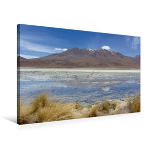 Premium Textil-Leinwand 75 cm x 50 cm quer Bolivien
