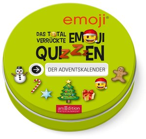 Das total verrückte emoji-Quizzen. Der Adventskalender