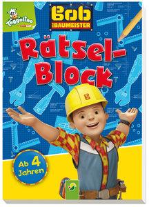 Bob der Baumeister Rätselblock