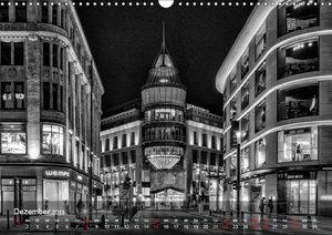 Düsseldorf Ansichten in Schwarz-Weiß (Wandkalender 2019 DIN A3 q