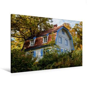 Premium Textil-Leinwand 120 cm x 80 cm quer Münterhaus
