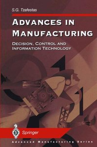 Advances in Manufacturing