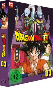 Dragonball Super - 3. Arc: Universum 6 - Episoden 28-46 (3 DVDs)