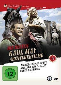 Die besten Karl May Abenteuer Filme, 3 DVDs