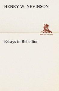 Essays in Rebellion